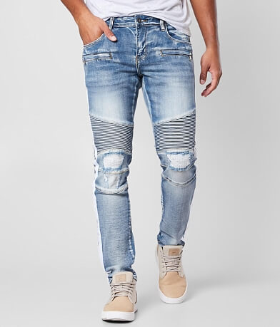Crysp Denim Jamie Biker Skinny Stretch Jean