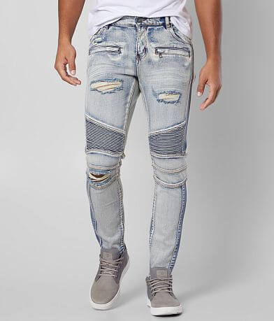 Crysp Denim Richardson Biker Skinny Stretch Jean