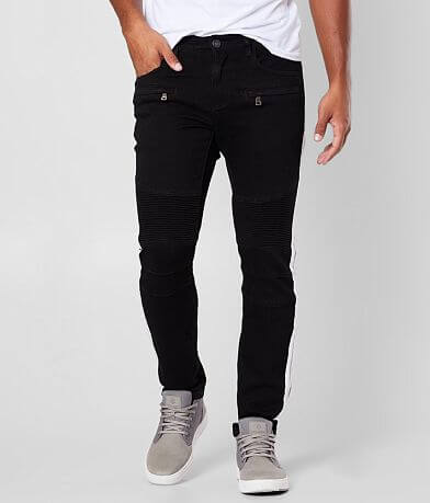 Crysp Denim Stefan Biker Skinny Stretch Jean