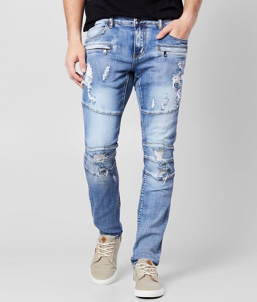 Crysp Denim Jacob Skinny Stretch Jean front view