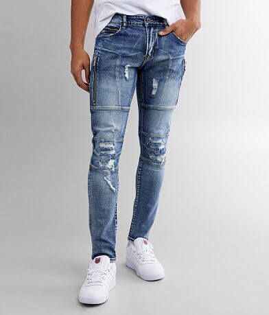Crysp Denim Jones Skinny Stretch Jean
