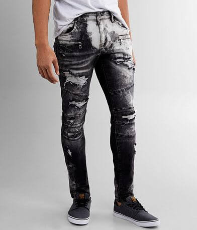 Crysp Denim Shia Skinny Stretch Jean