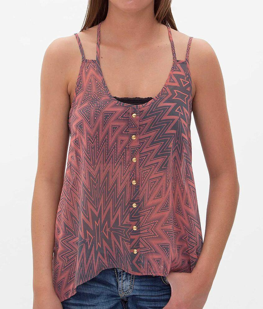 Daytrip Printed Tank Top front view
