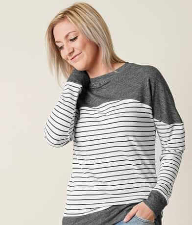 Daytrip Striped Sweatshirt