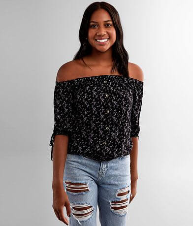 Liberty Love Floral Off The Shoulder Top