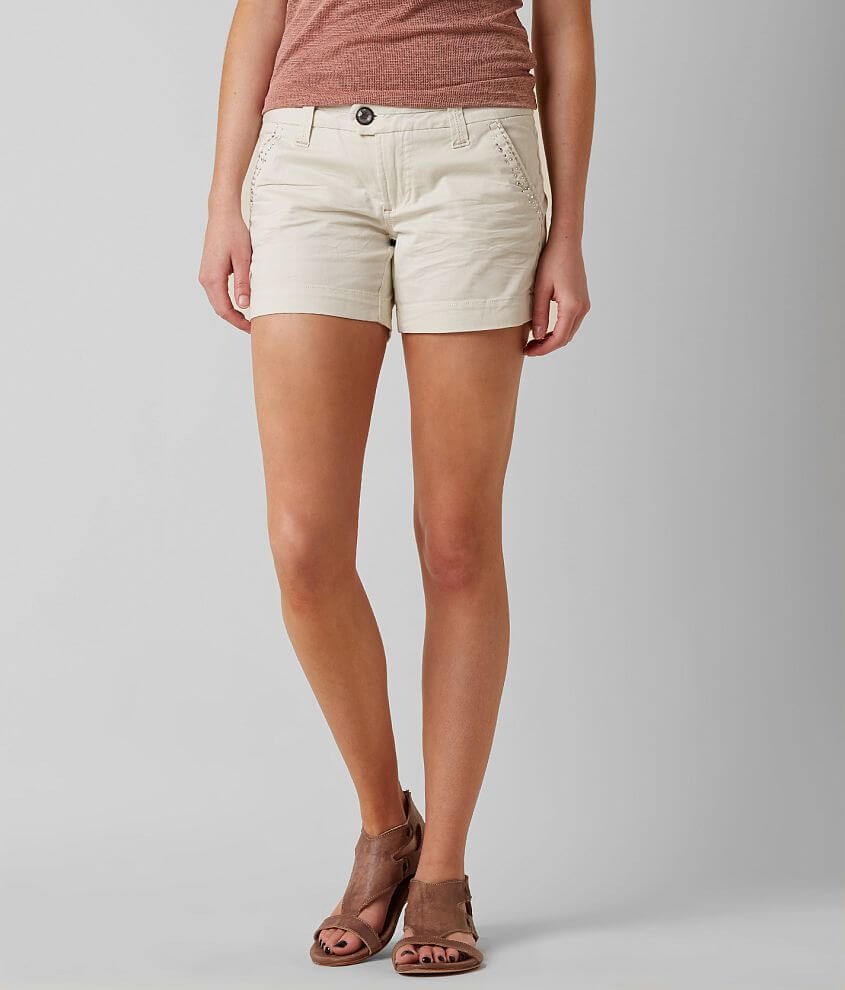 BKE Serena Stretch Short front view