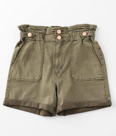 BKE Parker Paperbag Stretch Cuffed Short