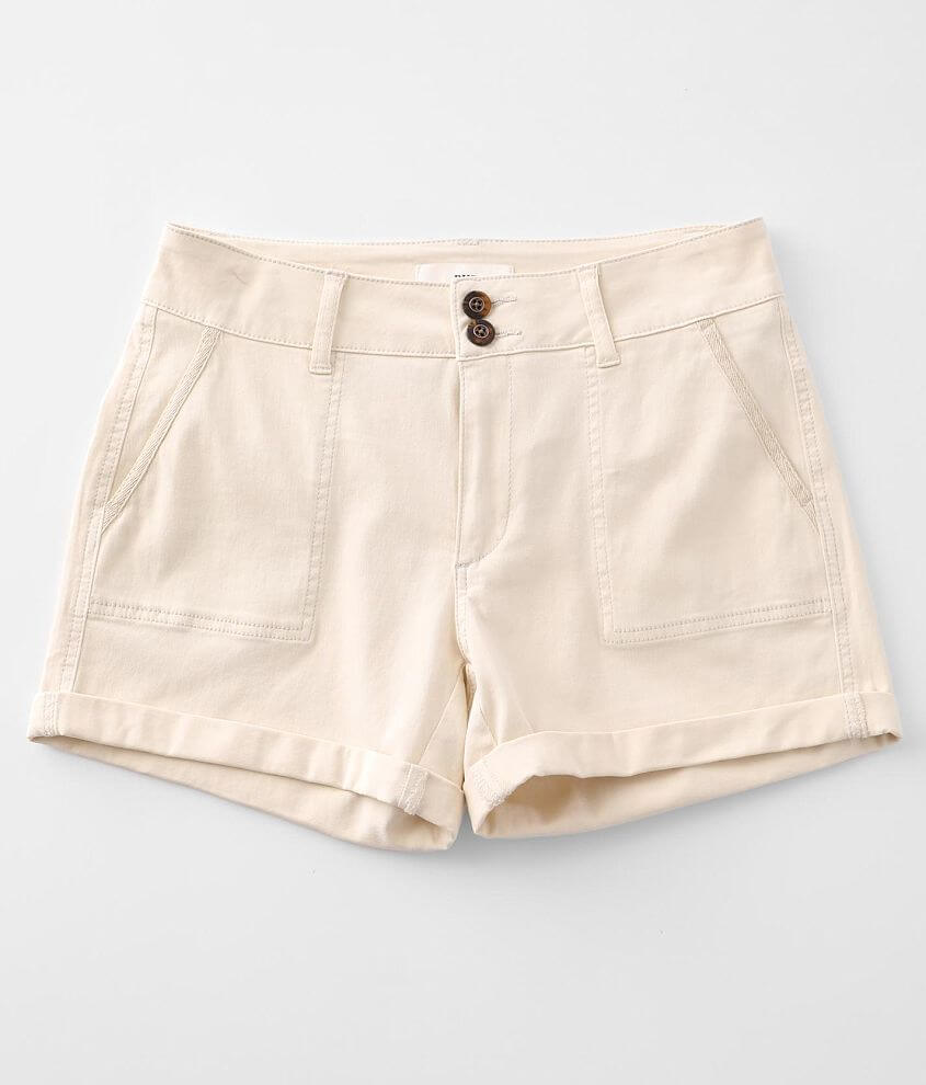 BKE Payton Cuffed Stretch Short front view