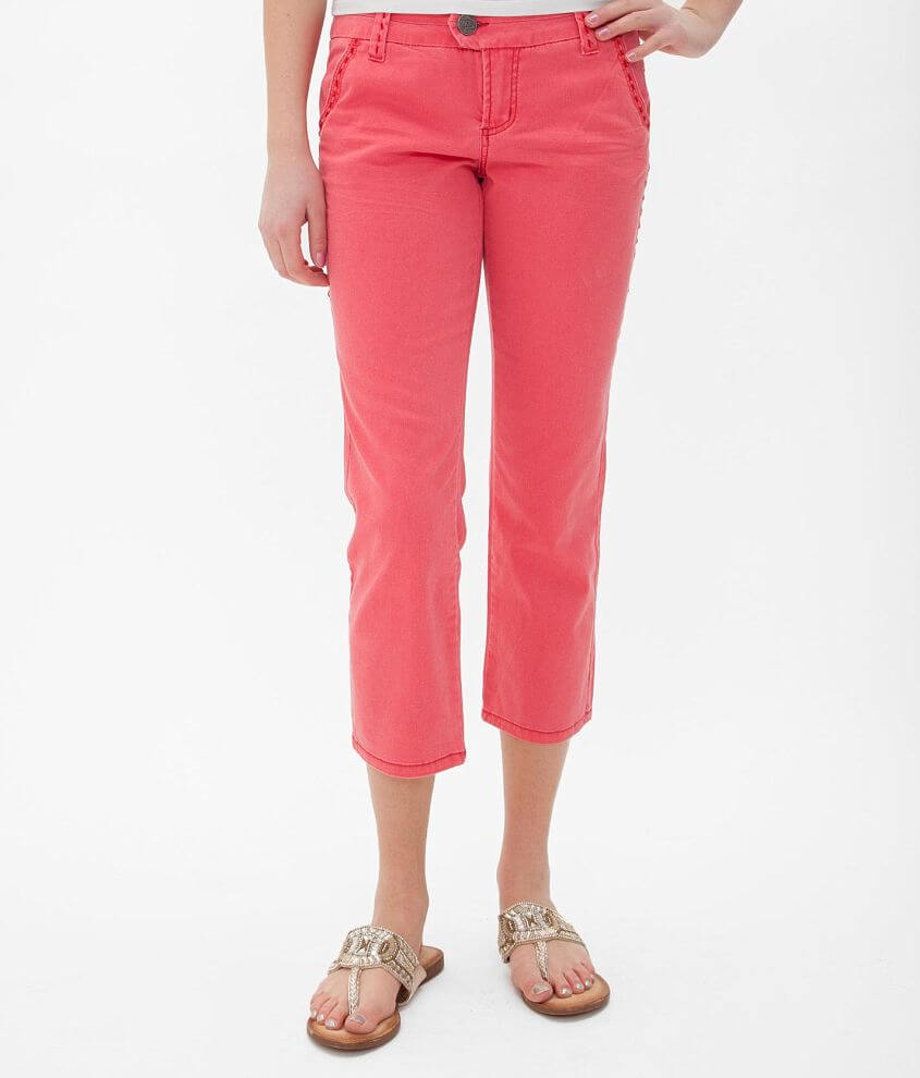 BKE Kinley Stretch Cropped Pant front view
