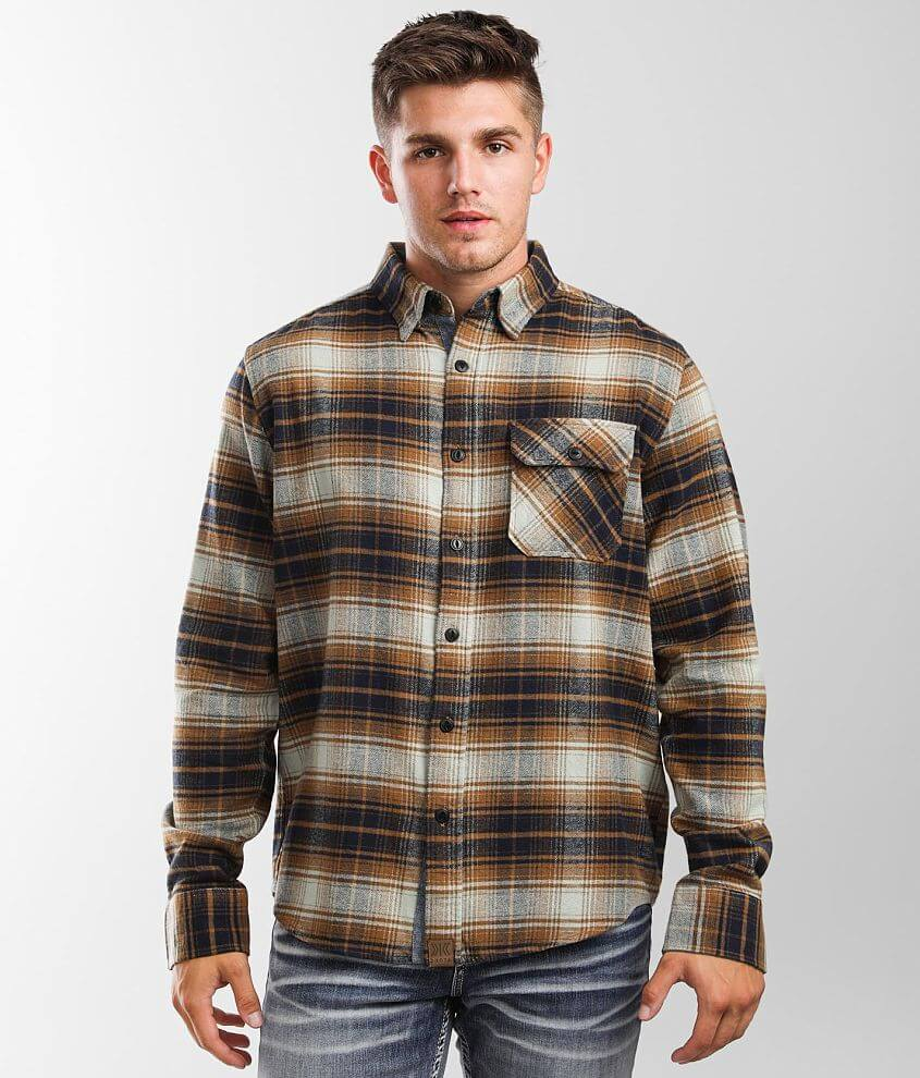Dakota Grizzly Brock Flannel Shirt front view