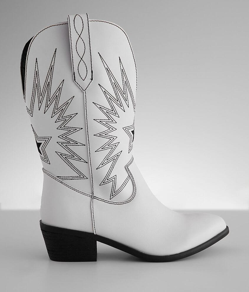 Dingo Rockstar Leather Western Fashion Boot front view