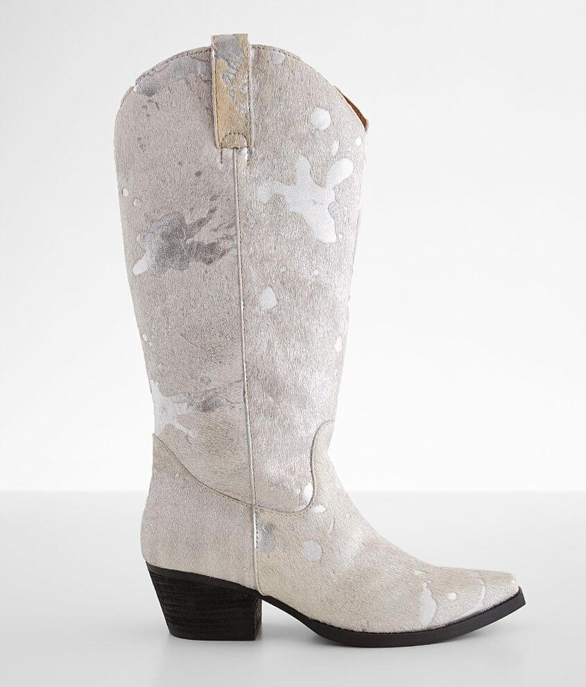 Dingo Giddy Up Foiled Leather Western Boot front view