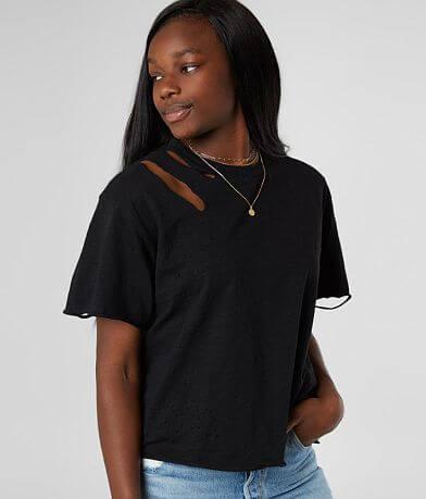 Dance & Marvel Destructed Slub Knit T-Shirt