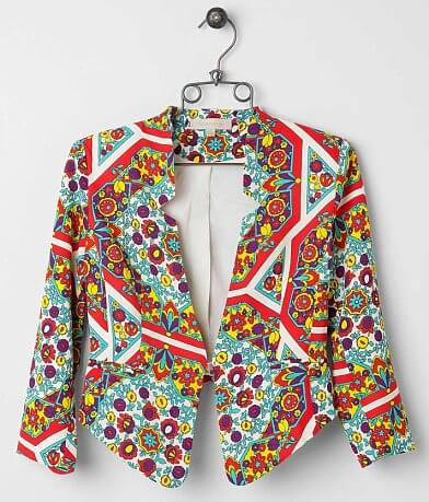 Dance & Marvel Printed Blazer
