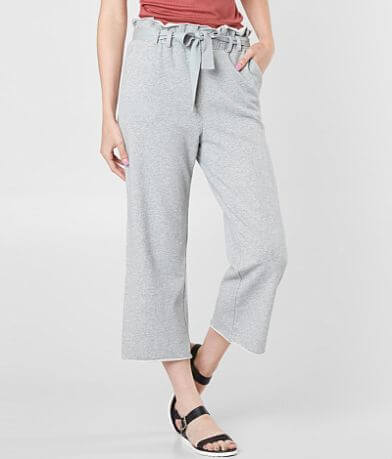 Dance & Marvel Cropped Ruffle Pant