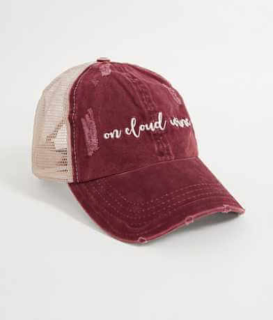 David & Young On Cloud Wine Baseball Hat