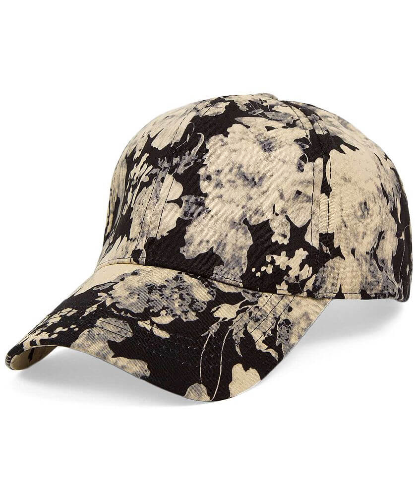 David & Young Floral Hat front view