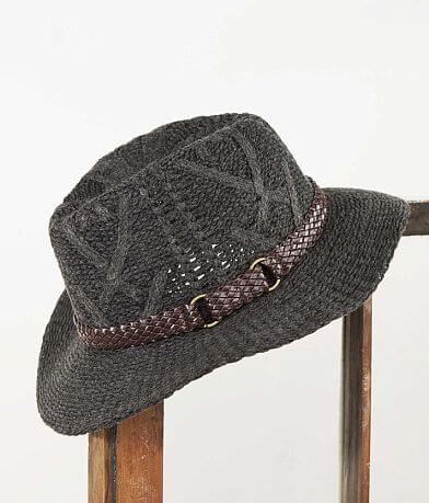 David & Young Open Weave Hat