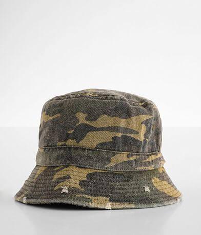 David & Young Camo Bucket Hat