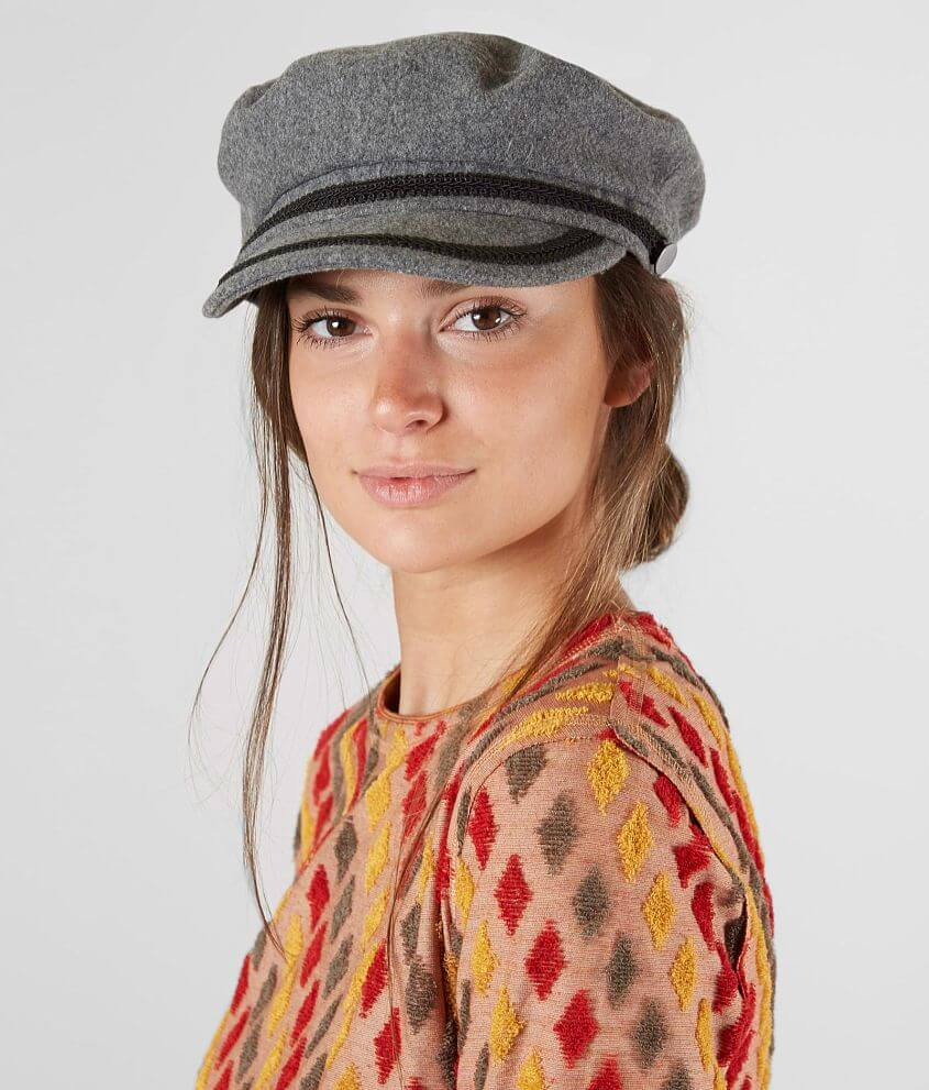 fcdb3c04 David & Young Cabbie Hat - Women's Hats in Grey | Buckle