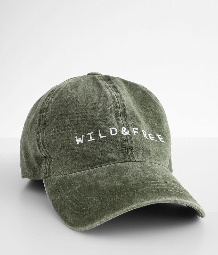 David & Young Wild & Free Washed Dad Hat front view
