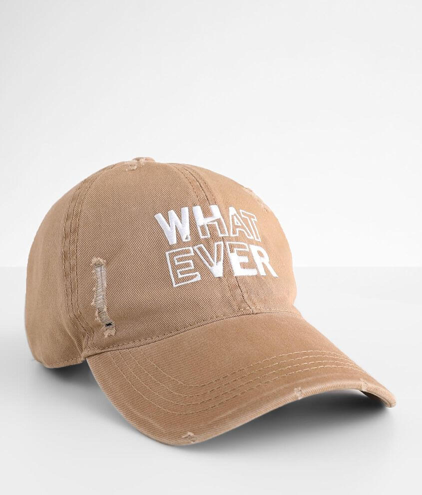 David & Young Whatever Dad Hat front view