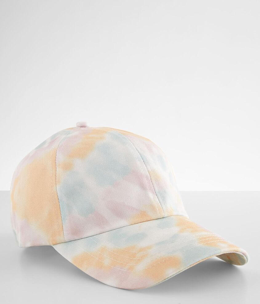 David & Young Tie Dye Baseball Hat front view