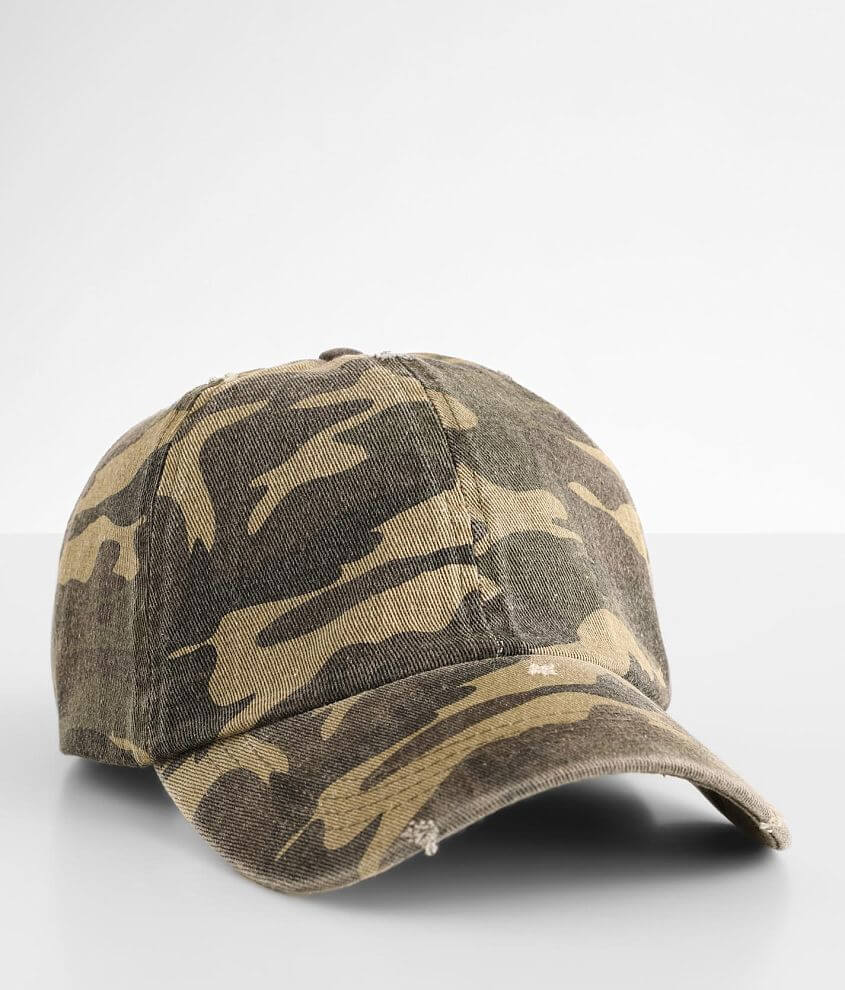 David & Young Camoflage Dad Hat front view