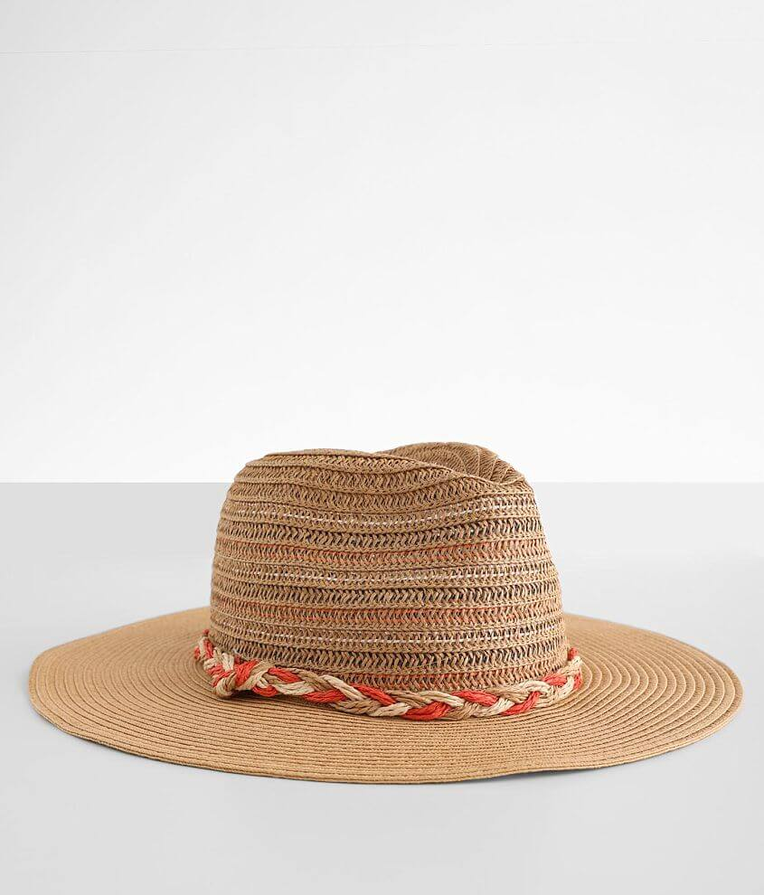 David & Young Straw Panama Hat front view