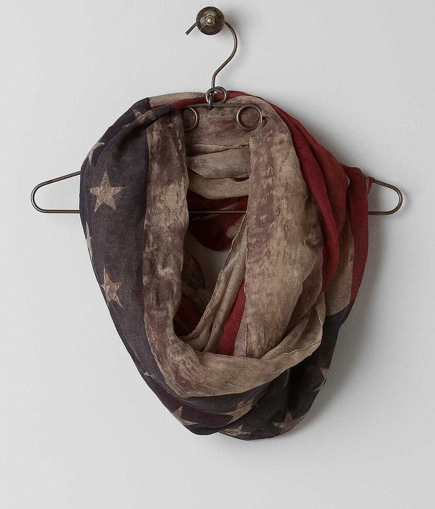 David & Young Flag Scarf front view