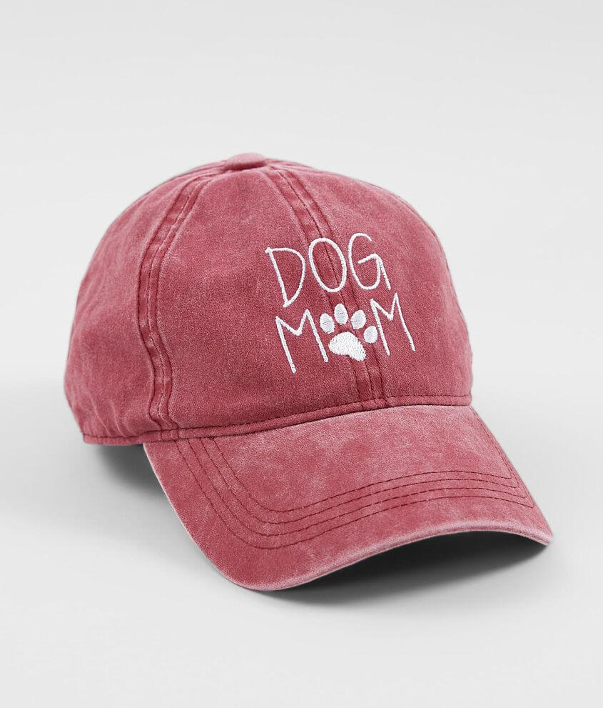 541914b54f3 David   Young Dog Mom Baseball Hat - Women s Hats in Burgundy