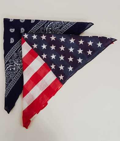 D & Y Americana Bandana Scarf