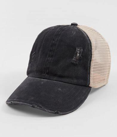 David & Young Ponytail Baseball Hat