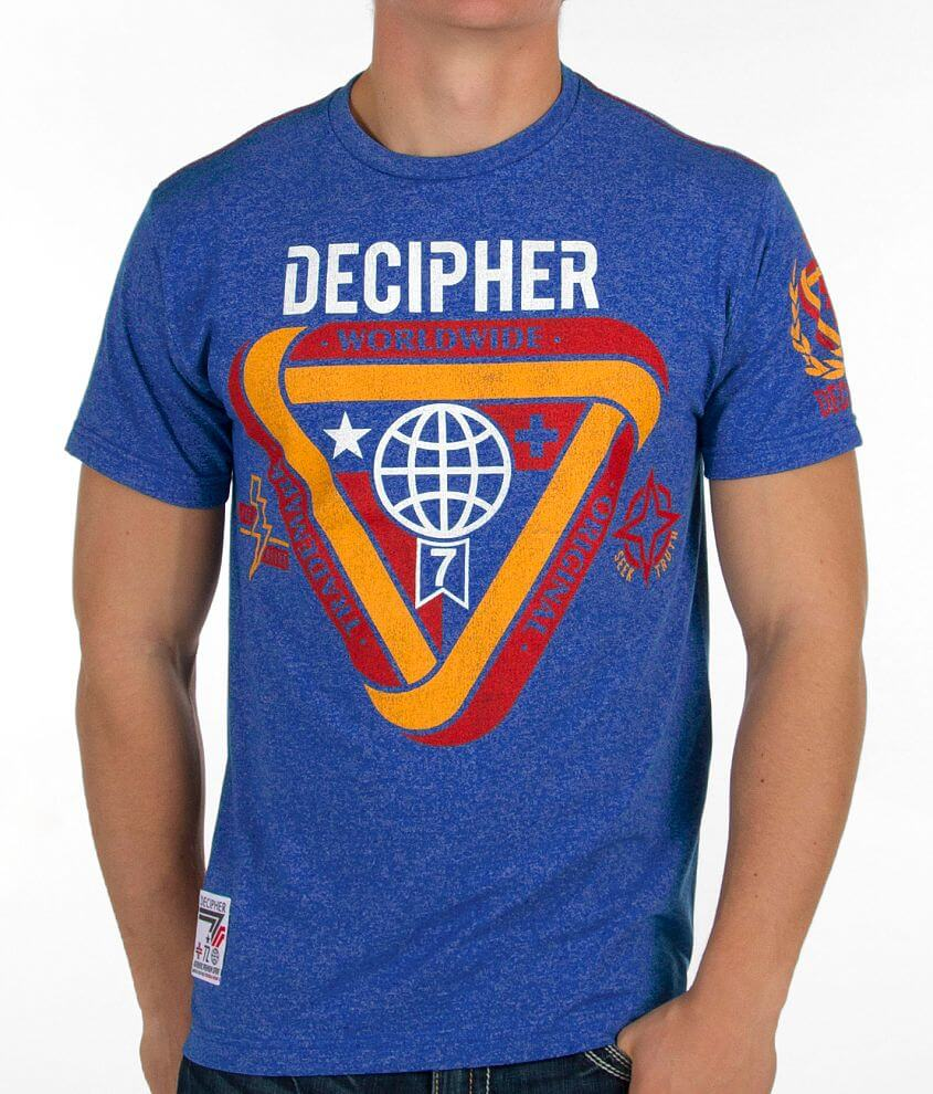 Decipher Worldwide Speckled T-Shirt front view
