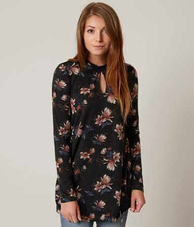 willow & root Floral Top