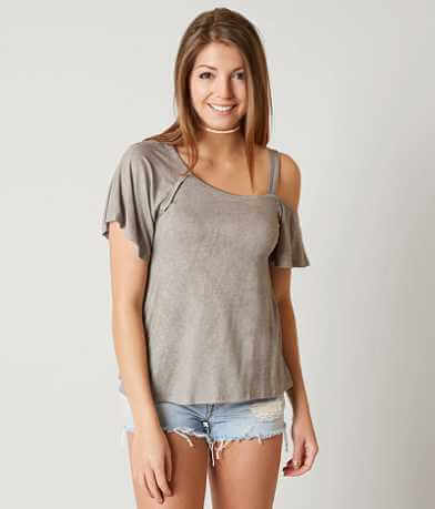 Dee Elly Cold Shoulder Top