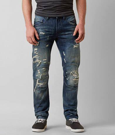 Rivet De Cru Moto Slim Straight Jean