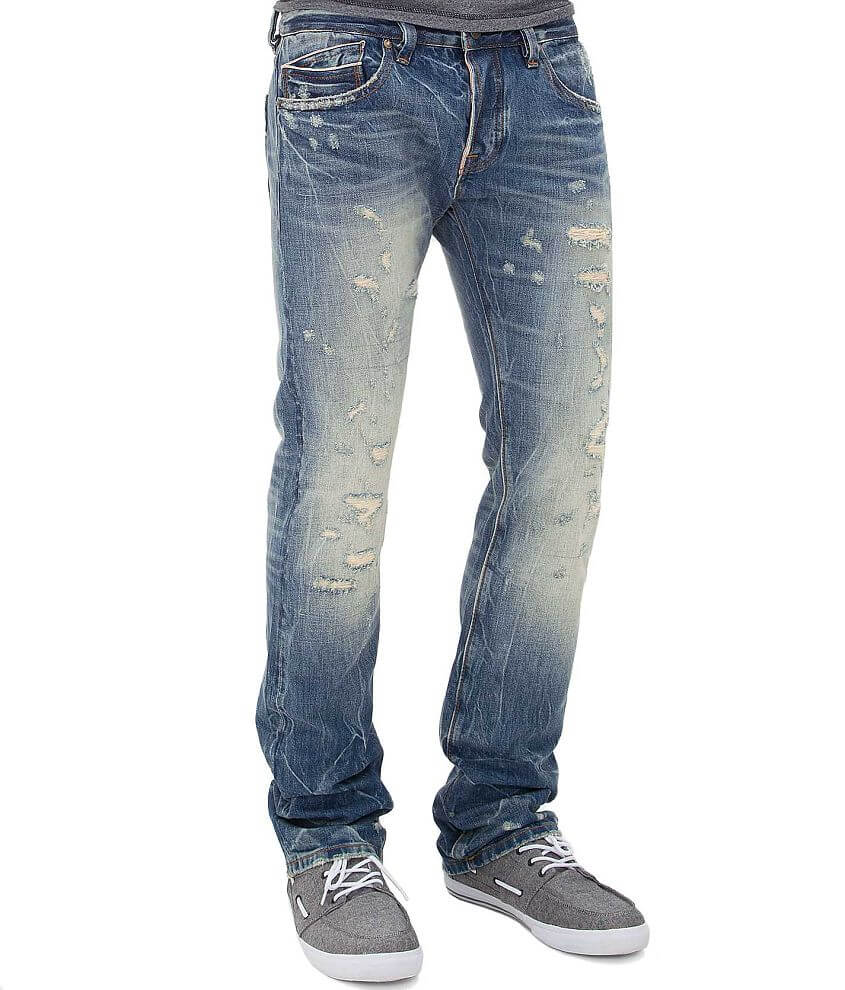 Cult of Individuality Rebel Straight Selvage Jean front view