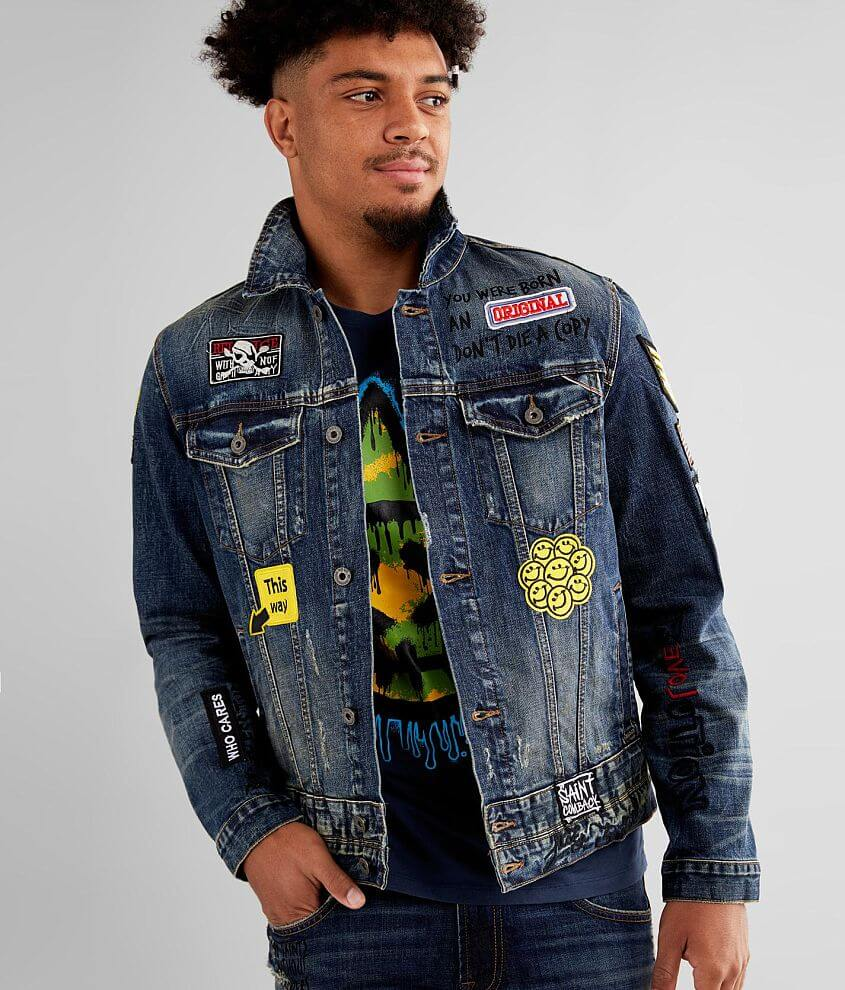 Cult of Individuality Type III Denim Jacket front view