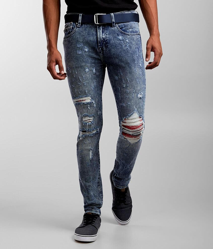 Cult of Individuality Punk Super Skinny Jean front view