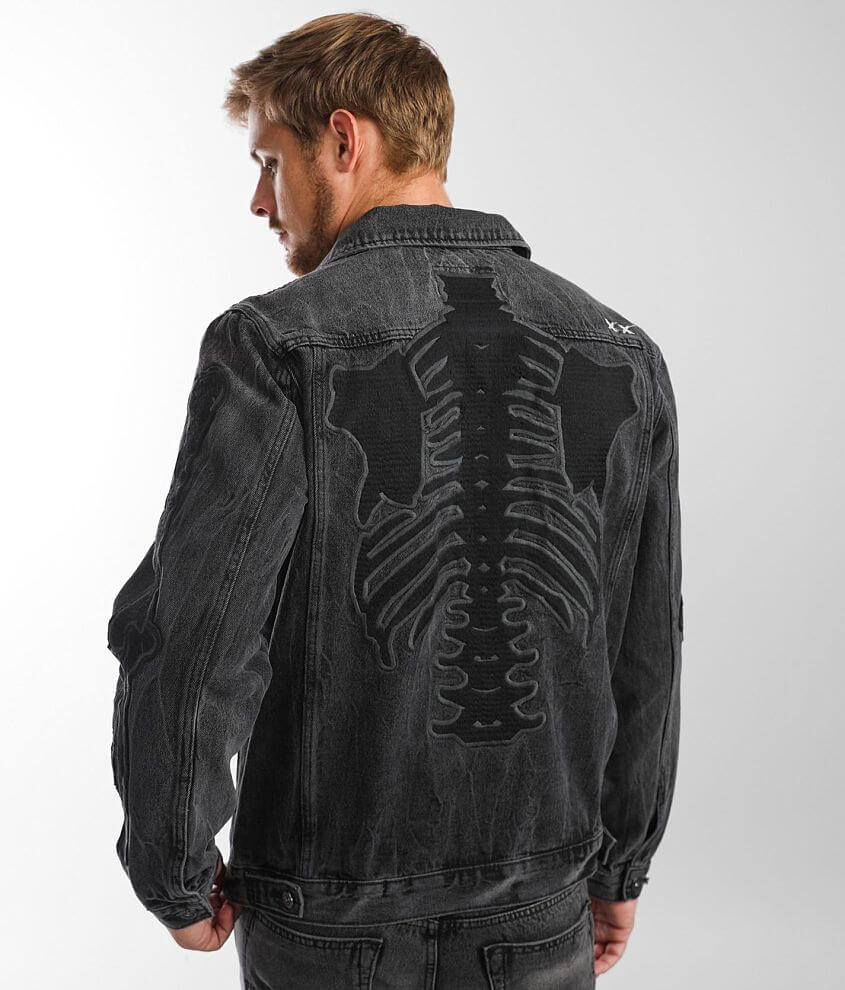 Cult of Individuality Type II Denim Jacket front view