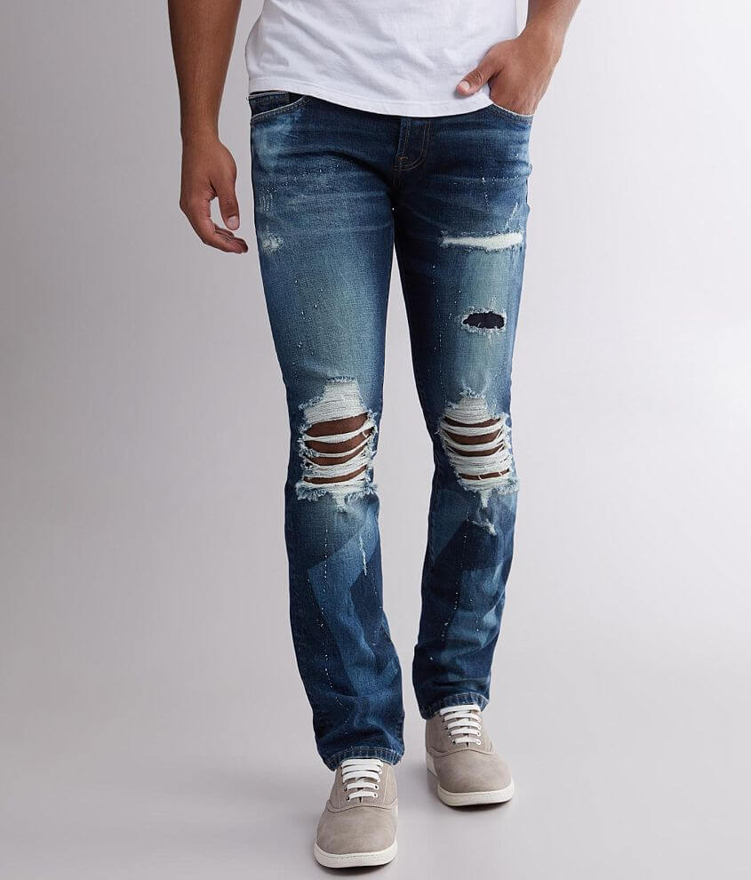 Cult of Individuality Greaser Straight Jean front view