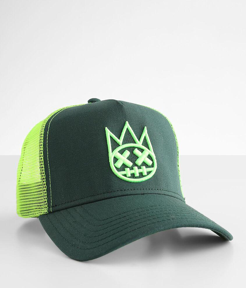 Cult of Individuality Neon Trucker Hat front view