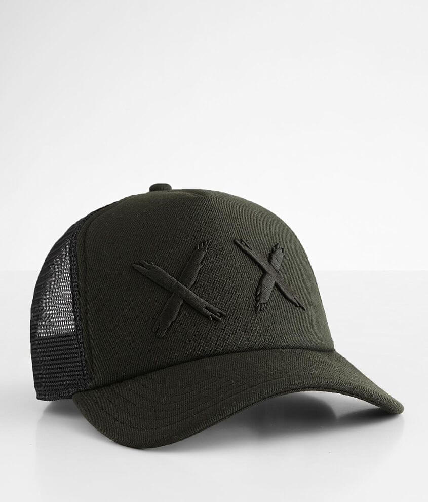 Cult of Individuality Embroidered Trucker Hat front view