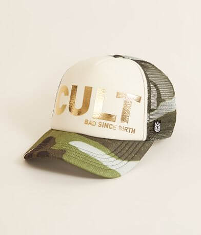 Cult of Individuality Camo Trucker Hat