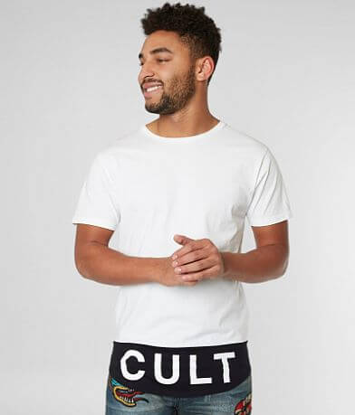 Cult of Individuality Color Block T-Shirt