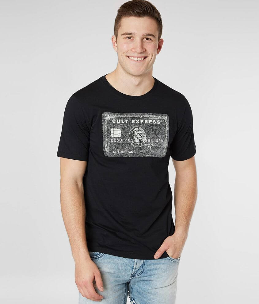 Il cielo Falange congelato  Cult of Individuality Express T-Shirt - Men's T-Shirts in Black   Buckle