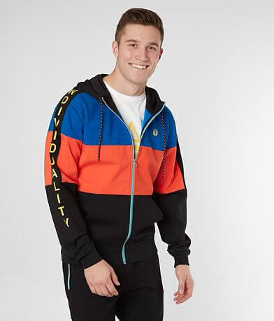 Cult of Individuality Color Block Track Jacket
