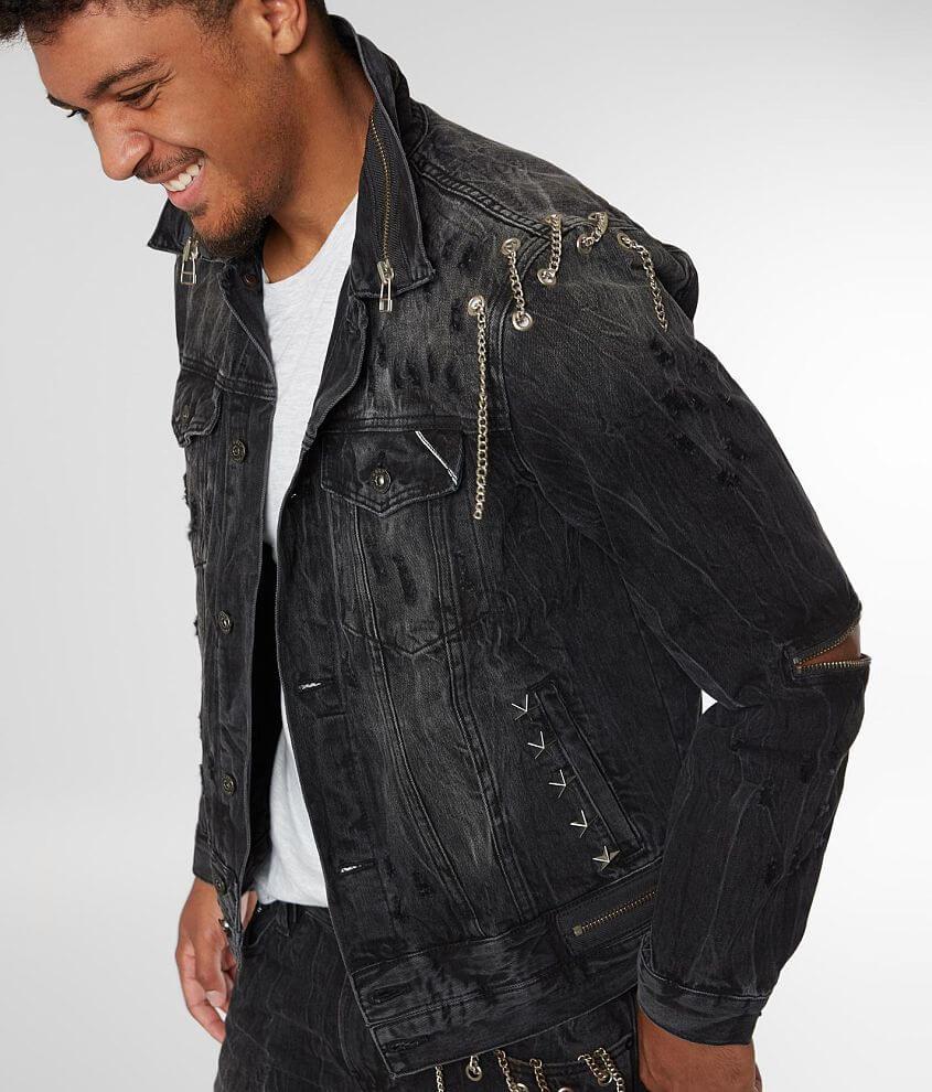 Cult Of Individuality Punk Type 2 Denim Jacket Mens Coats