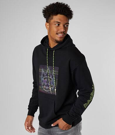 Cult of Individuality Patchwork Hooded Sweatshirt